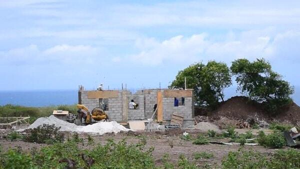 Home Construction In Maddens, Nevis Begins