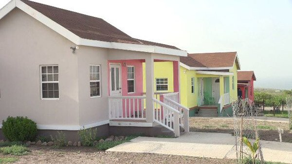 Cedar View Housing Development - Nevis Island