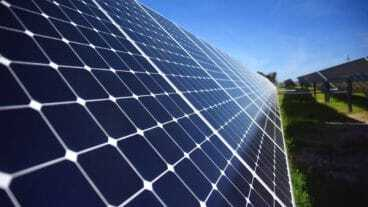 Solar Panels For Renewable Energy On Nevis