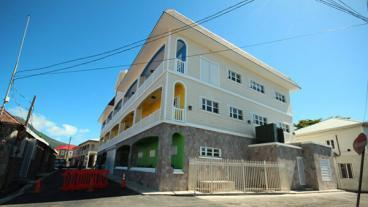 New Nevis Treasury Building