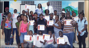 CEBO Students With Diplomas
