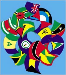 Flags of The CARICOM Countries