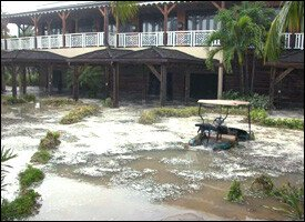 Four Seasons Resort Closed Due To Hurricane Damage