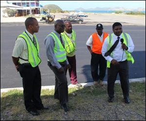 Nevis Airport Employees