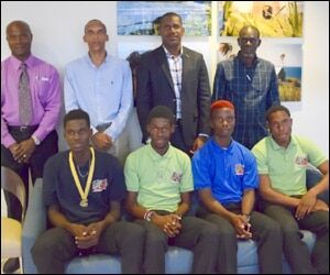 CARIFTA Athletes With Officials